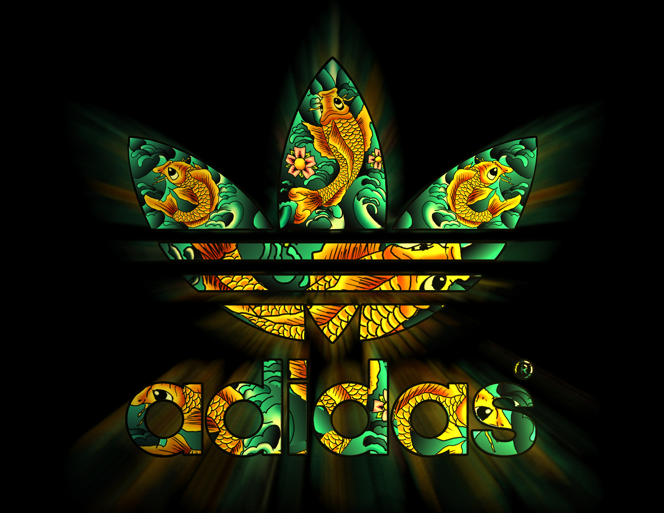 adidas logo and font wallpaper hd widescreen for your pc