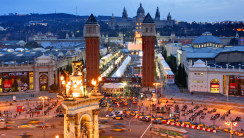 Beautiful Place To Visit In Barcelona City Photo And Picture Gallery