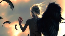 Beautiful Angel Broken Wing Wallpaper HD Widescreen For Your PC Desktop