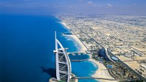 Awesome Building In The Beach Dubai HD Wallpaper Widescreen Picture