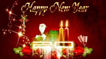 Beautiful Happy New Year 2014 HD Wallpaper Widescreen For PC Desktop
