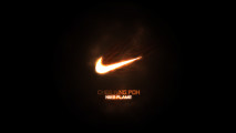 Lighting Nike Logo Top Best HD Wallpaper Picture For PC Desktop