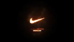 Lighting Nike Logo Top Best HD Wallpaper Picture For PC Desktop