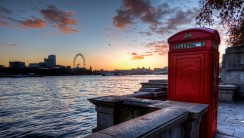 London Telephone Booth HD Wallpaper Desktop Picture Widescreen