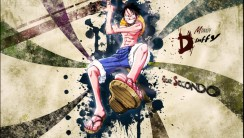 Luffy Gomu Gomu One Piece Manga HD Wallpaper Image Background