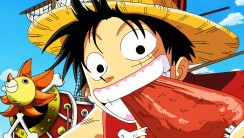 Luffy With Ship Thousand Sunny Wallpaper HD Widescreen For PC Computer