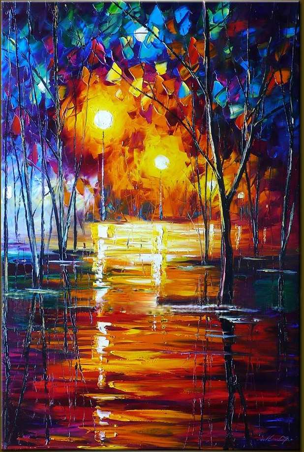 Beautiful abstract oil paintings images for Pretty abstract paintings