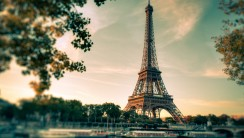 New Paris Eiffel Tower Full High Definiiton Wallpaper Picture Image
