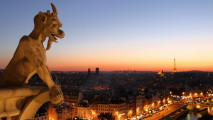 Beautiful Paris When Night Come Photo Picture HD Wallpaper Free