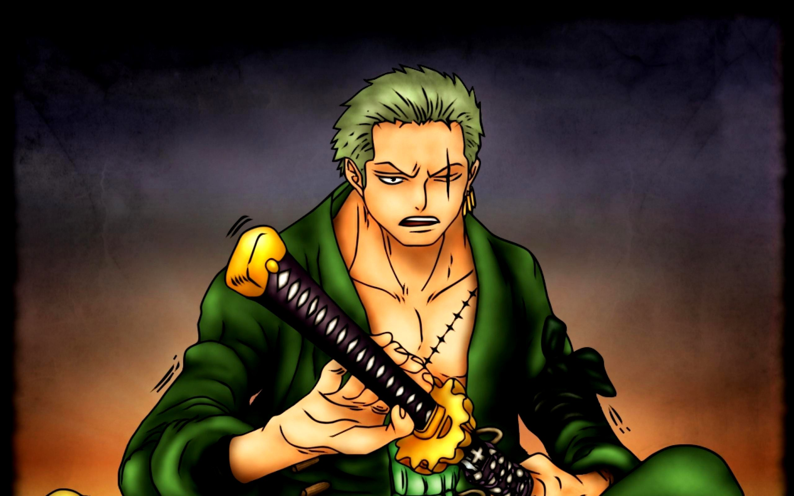 Awesome Roronoa Zoro One Piece Image HD Wallpaper Desktop