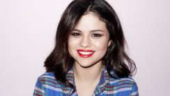 Hollywood Star Selena Gomez Photoshoot Background HD Wallpaper