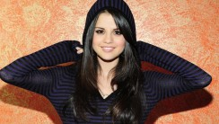 Free Download Black Selena Gomez Photo Picture HD Wallpaper