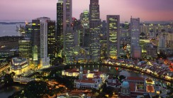 Singapore Modern City In Asia Picture Wallpaper HD Widescreen Desktop
