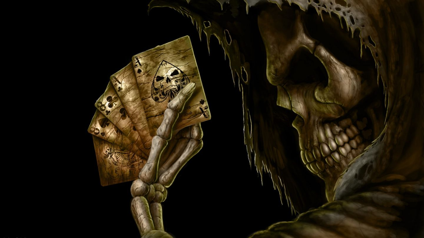 Cool Playing Cards Wallpaper Skull Playing Cards Best hd