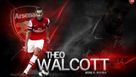 Theo Walcott Arsenal 2013 Full HD Wallpaper Picture Background