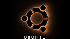 Linux Ubuntu Logo With Black Background HD Wallpaper Image PC Computer