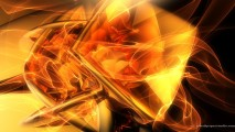 Beautiful 3D Abstract Gold HD Wallpaper Image Picture Free