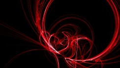 Awesome Red And Black Abstract HD Wallpaper Background Image