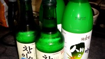 Soju And Makgeolli Bottles Alcohol Drinks Photo Picture