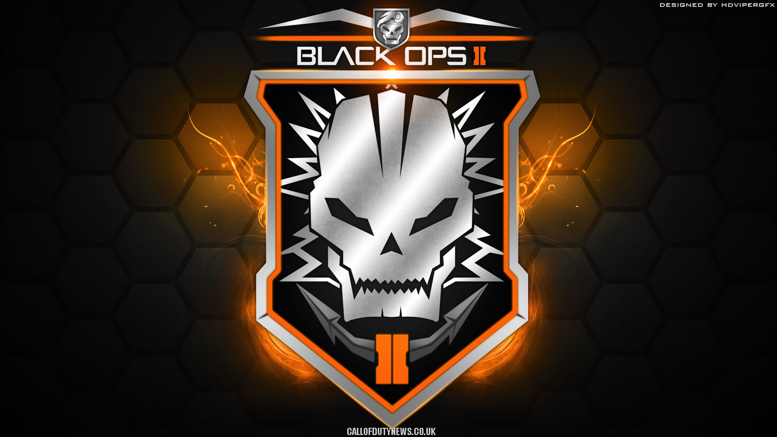 call of duty black ops 2 logo image hd wallpaper