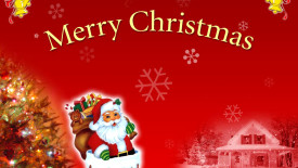 Merry Christmas Santa Clauz Wallpaper HD Widescreen For PC Computer