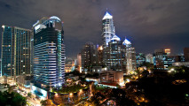Modern City Bangkok Photo Picture HD Wallpaper Free Download
