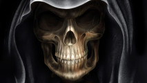 Demon Alien Devil Skull HD Wallpaper Picture Widescreen For PC Desktop
