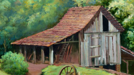 Fine Art Prints The Old Home In The Jugle Picture Image HD Wallpaper
