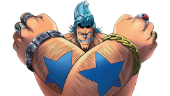 Render Franky Cyborg One Piece Anime Picture Image Background