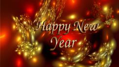 Happy New Year 2014 HD Wallpaper Widescreen Desktop Free Download