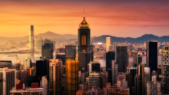 Modern City Hong Kong China For Tourist Holiday Photo Picture HD Wallpaper