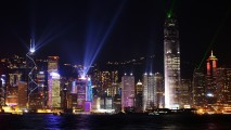 Hong Kong Skyline HD Wallpaper Photo Picture Widescreen Desktop