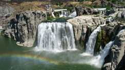 Awesome Shoshone Falls Nature America Photo And Picture Sharing