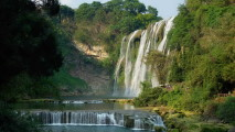 Huangguoshu Waterfall Nature Tour And Travel Photo HD Wallpaper