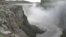 Dettifoss Falls Tour And Travel HD Wallpaper Widescreen Desktop