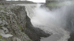 Dettifoss Falls Tour And Travel HD Wallpaper Widescreen Desktop