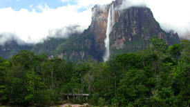 Angel Waterfall Nature Venezuela Photo And Picture Sharing