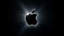 Black Apple Logo HD Wallpaper Background For PC Desktop And Mac