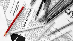 Black And White Pens And Papers HD Wallpaper Photo Picture
