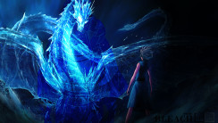 Blue Dragon Bleach High Quality In HD Wallpaper Free Download