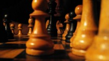 Chess Game From Wood Best HD Wallpaper Photo Picture