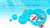 Free Download HD Wallpaper Background Doraemon Cartoon