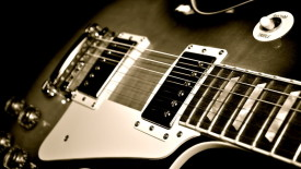Amazing Gibson Les Paul Guitar HD Wallpaper Photo For Your PC Desktop