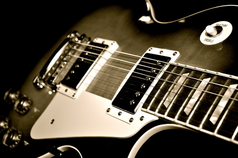 Amazing Gibson Les Paul Guitar HD Wallpaper Photo For Your PC