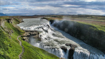 Awesome Gullfoss Golden Falls High Quality In HD Wallpapers