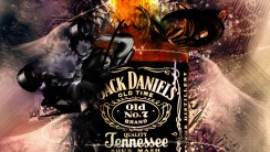 Jack Daniels Whiskey Alcohol Drink Image HD Wallpaper Picture