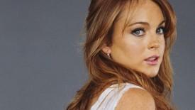 Awesome Lindsay Lohan HD Wallpaper Photoshoot Background