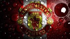 Manchester United Water High Quality In HD Wallpaper Free Download
