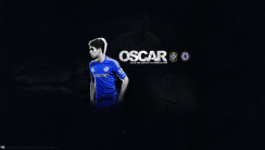 Oscar 11 Football Player For Chelsea FC 2014 HD Wallpaper Picture