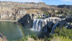 Free Download Picture HD Wallpaper Of Shoshone Waterfall Nature